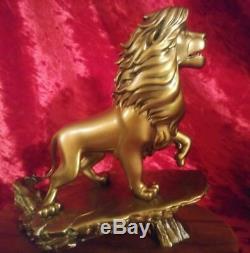 Disney Le Roi Lion En Bronze Coulé Figure Statue De Membre