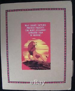 Disney Le Roi Lion For Your Consideration Art Book Pop Up Academy Awards