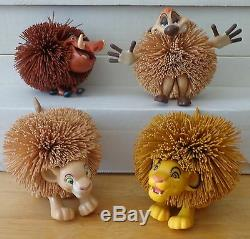 Disney Le Roi Lion Koosh En Caoutchouc Ball Pvc Personnage Figure Jouet Ensemble Oddzon 1994