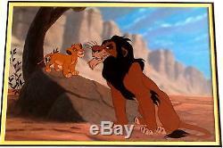 Disney, Le Roi Lion, LIM Originale. Édition Animation Art Cel