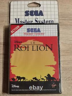 Disney Le Roi Lion Lion King Sega Master System I II Neuf Blister