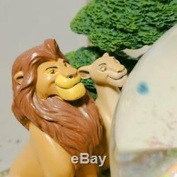 Disney Le Roi Lion Neige Snow Dome Globe Music Box 25e Anniversaire