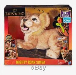 Disney Le Roi Lion Roar Puissant Simba Furreal Électronique Pet