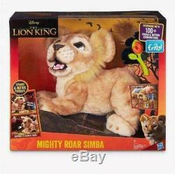 Disney Le Roi Lion Roar Puissant Simba Furreal Électronique Pet Brand New