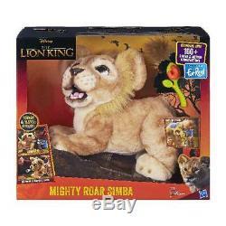 Disney Le Roi Lion Roar Puissant Simba Interactive Jouet En Peluche