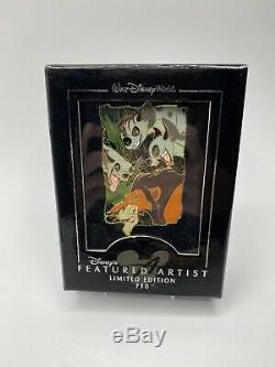 Disney Le Roi Lion Scar Et Hyènes En Vedette Artiste # 2 750 Le Pin Shenzi Banzai Ed