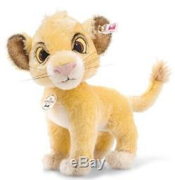 Disney Le Roi Lion Simba 24 CM Mohair 355363