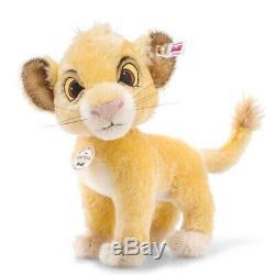 Disney Le Roi Lion Simba Ean 355363 De La Collection Steiff