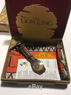 Disney Le Roi Lion Special Edition Fossiles Mens En Cuir Band Nouvelle Marque