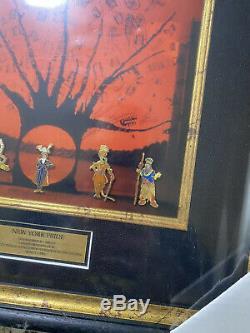 Disney Le Roi Lion Sur Broadway À New York Fierté Encadrée Le 25 Pin Set