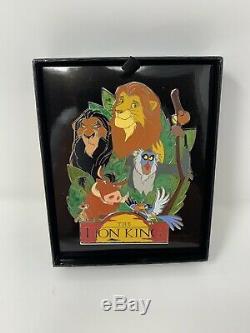 Disney Le Roi Lion Wdi 25e Anniversaire Le 250 Jumbo Pin Simba Nala Scar D23