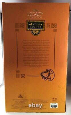 Disney Legacy Collection Lion King 25e Anniversaire Le 650 Girafes Figurine Nouvelle