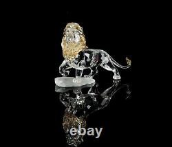 Disney Lion Cristal Swarovski Roi Figure Ornement 1048265, Boxed