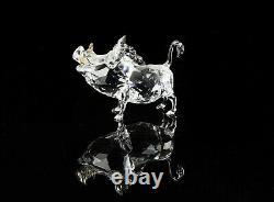 Disney Lion Cristal Swarovski Roi Figure Ornement 1049784, Boxed