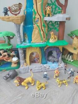Disney Lion Garde Playsets Land Pride & Scar Formation Figures Lair Bundle