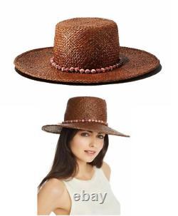 Disney Lion King Gigi Burris Millinery Perled-trim Straw Sun Hat 310 $ T.n.-o.