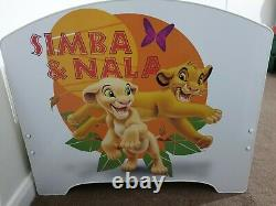 Disney Lion King Kids Bed Frame 70x140 + Étagère Murale