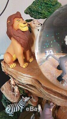 Disney Lion King König Der Löwen Schneekugel Spieluhr Selten