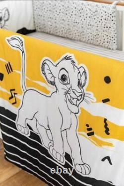 Disney Lion King Literie De Lit Bébé 3 Pièces En Coton