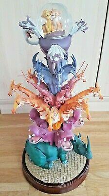 Disney Lion King Schneekugel-figur, Kunstharz, 44cm, Rar