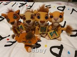 Disney Lion Rare Roi Kovu Vitani Nuka Kiara Peluche Molle Jouets Marqués