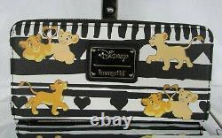 Disney Loungefly Le Lion King Wallet Simba Nala T.n.-o.