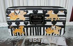 Disney Loungefly Le Roi Lion Mini Sac À Dos Et Porte-monnaie Set Simba Et Nala Tn-o