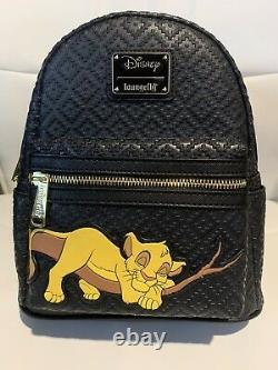 Disney Loungefly Sleeping Simba Sac À Dos Le600 À La Main