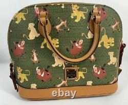 Disney Parks Dooney & Bourke Zip Satchel Sac À Main Sac À Main Lion King 2019 Bag Simba