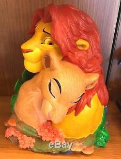 Disney Parks Lion King Simba Et Nala Medium Big Figure Figurine Marque Nouveau Dans La Boîte