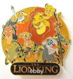 Disney Pin Dec Lion King Cluster Le 250
