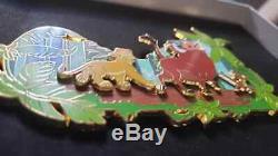 Disney Pin Jumbo Roi Lion Disneyland Paris Exclusive Le 400 Neuf