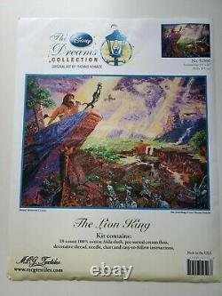 Disney Rêve Thomas Kinkade Roi Lion Kit Point De Croix 52506 16x12