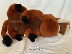 Disney Roi Lion Pumbaa Douglas Cuddle Jouets En Peluche Géant Lifesize Warthog