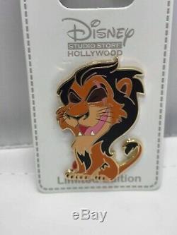 Disney Scar Animal Villains Cutie Le 300 Épingles Dsf Dssh Lion King