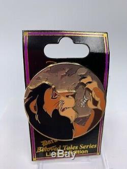 Disney Scar Dark Tales Le 300 Pin Dsf Dssh Bien-aimé Le Roi Lion