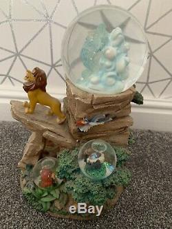 Disney Snow Globe Le Roi Lion En Édition Limitée Edition Limitée