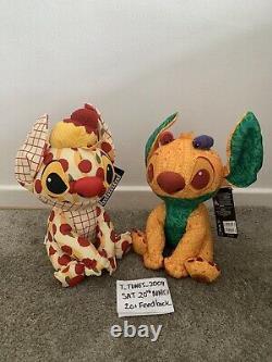 Disney Stitch Crashes Disney Soft Toy Peluche Feb 2/12 & Mars 3/12 In Hand