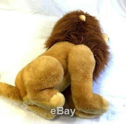 Disney Store 32 Jumbo Simba Grand Le Roi Lion Mufasa En Peluche Rare