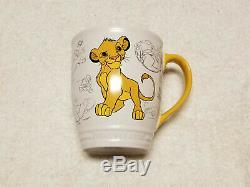 Disney Store Disney Classics Collection Le Roi Lion Simba Tasse De 16 Oz Nouveau