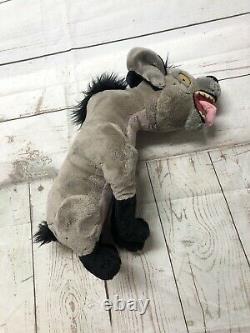 Disney Store Ed Hyena Stamped Peluche Farcie Le Roi Lion Rare 14