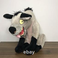 Disney Store Exclusif Ed Lion King Hyena Jouet En Peluche Souple Estampillé (rare) 14