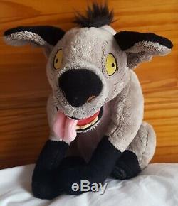 Disney Store Exclusif Ed (lion King) De Doux Hyène En Peluche En Peluche Stamped Rare