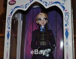 Disney Store Frozen Elsa Edition Limitée 5000 Collector 17 Poupée Mauve Nouveau
