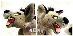 Disney Store Hyenas Ensemble Roi Peluche 3 Ed Tamponné Ed Banzai Shenzi Rare 14