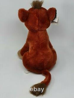 Disney Store Le Roi Lion Assis Kovu Rare Simba Jouet En Peluche Nouvelle Étiquette 17