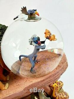 Disney Store Le Roi Lion Fierté Rocher Cercle De La Vie Snow Globe