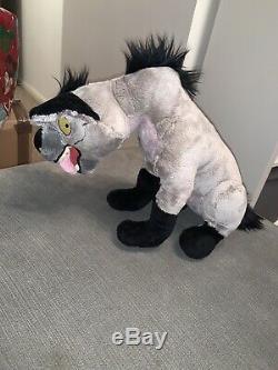 Disney Store Lion King Ed Hyène En Peluche Entiers