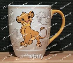 ^ Disney Store Mug Disney Classics Simba Coffee Cup Nouveau