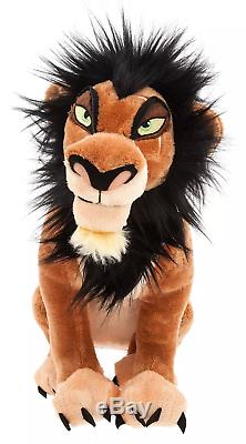 Disney Store Roi Lion Mufasa Scar Simba Pumbaa Complete Grand 7 Peluche Régl.nouv